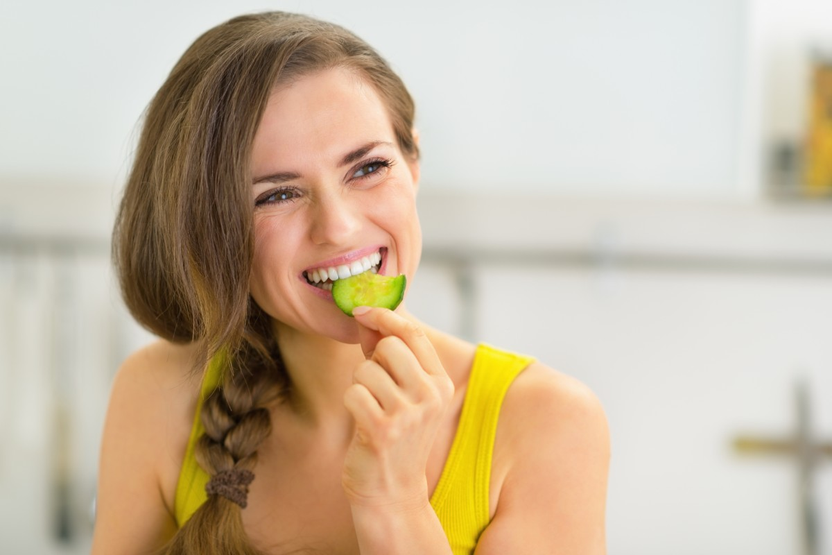 Gurken-Tomaten-Diät