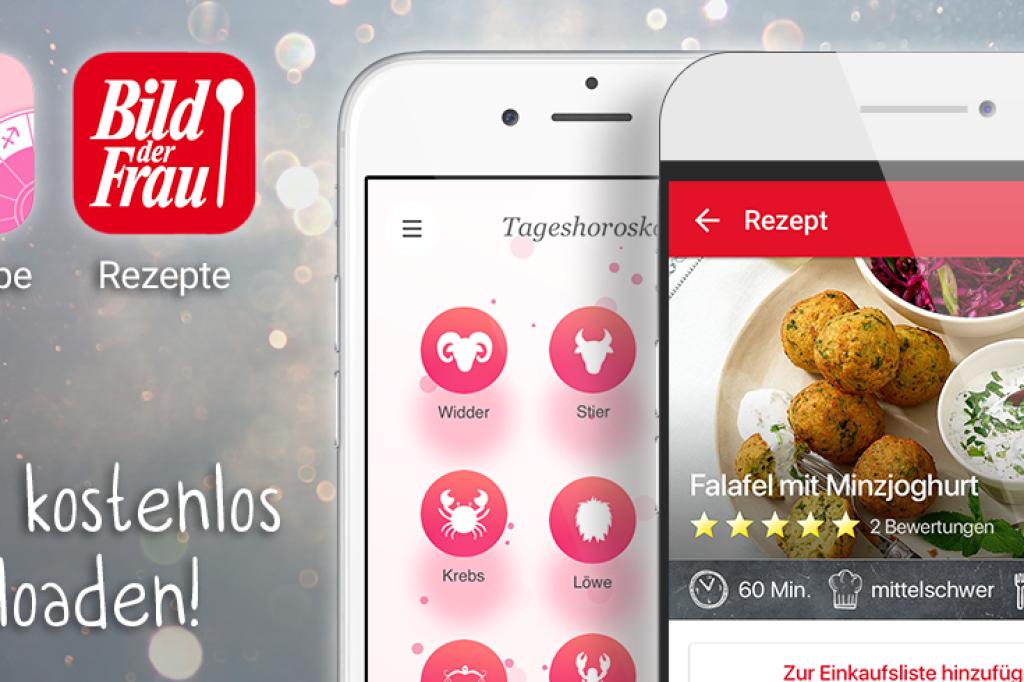 BILD der FRAU-Apps • Rezepte & Horoskope für Ihr Smartphone - Bild ...