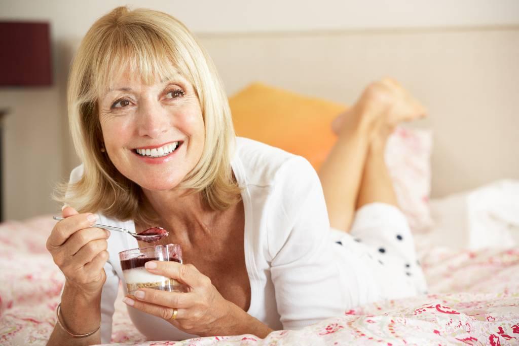 Wie man Gewicht verliert 55 Jahre alte Frau