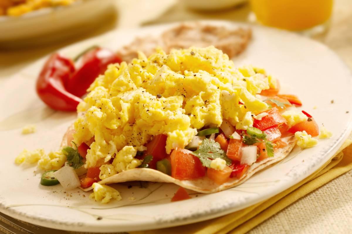 Diät Frühstück Rührei