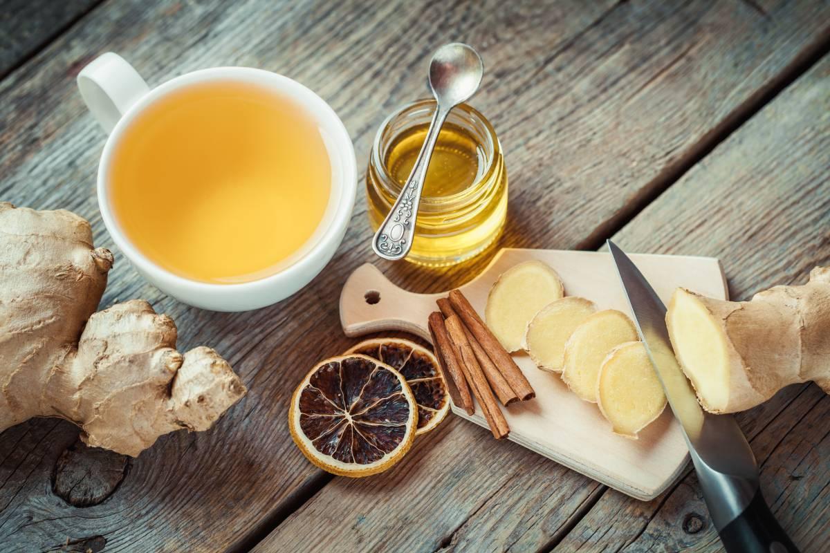 Orangensaft mit Ingwer zur Gewichtsreduktion