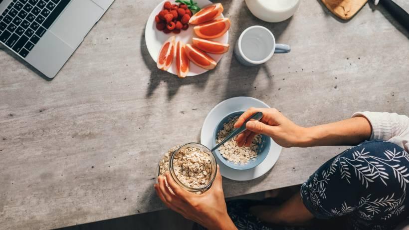 Machen Haferflocken Schlank Ja Als Frühstück Bildderfraude