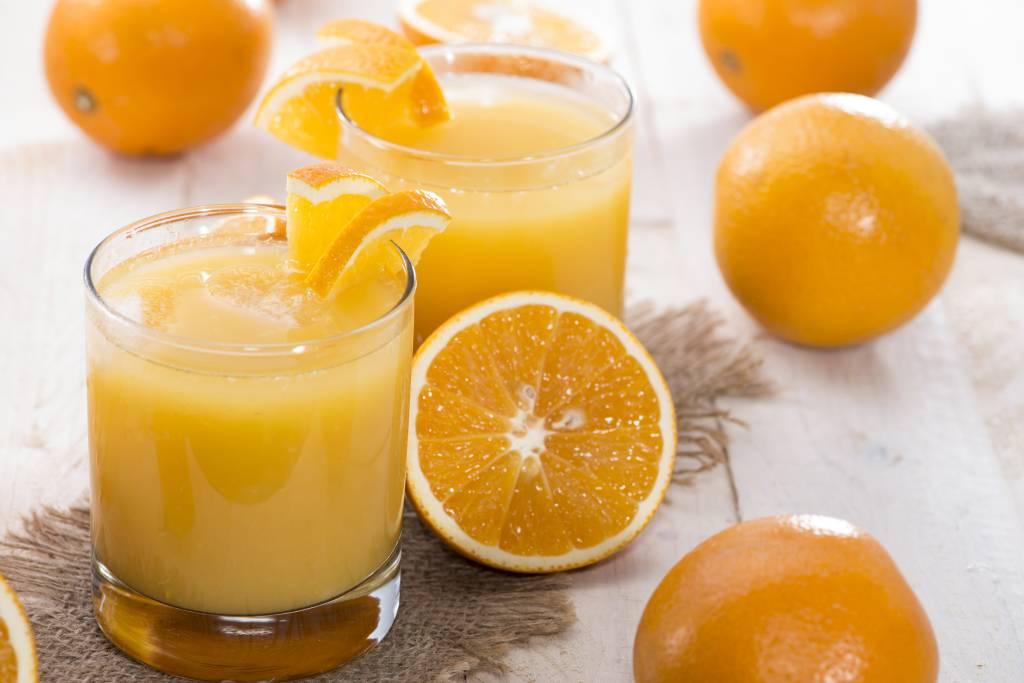 Orangensaft ist gut für die Ernährung