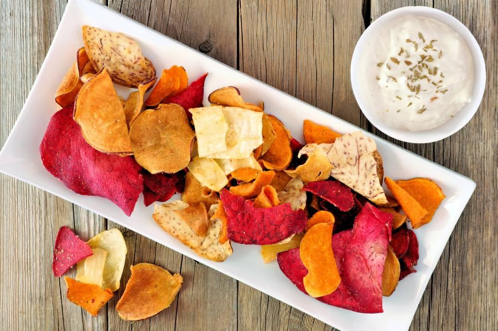 Gesunde Chips Die Bunte Alternative Bildderfrau De