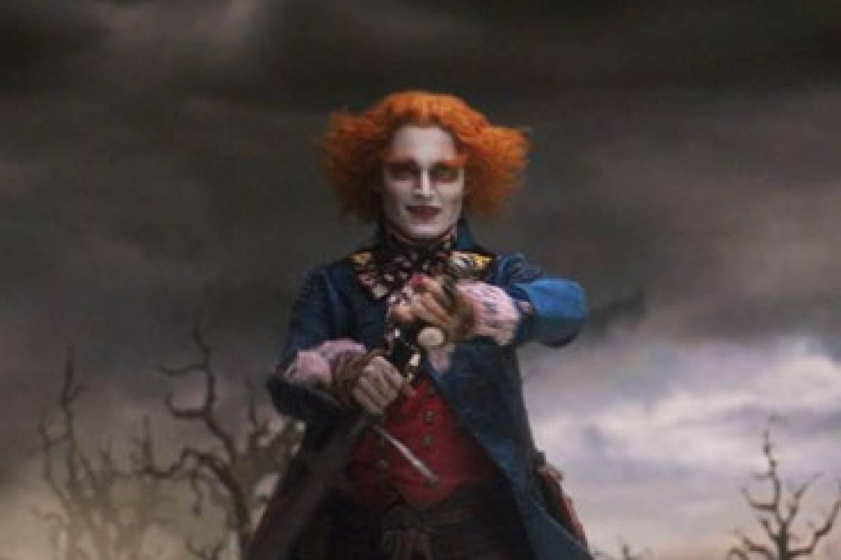 Der Verrückte Hutmacher Johnny Depp Bildderfraude