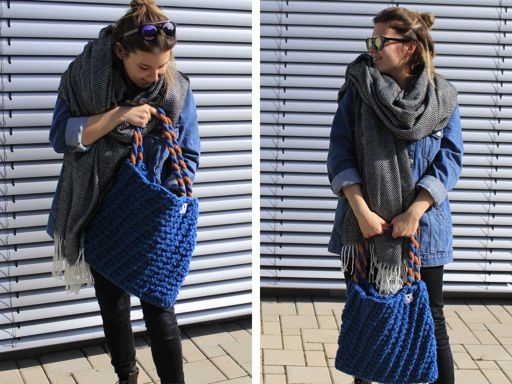 """Tasche häkeln: Praktischer Shopper mit viel """"Stauraum"""" - Bild der Frau"""