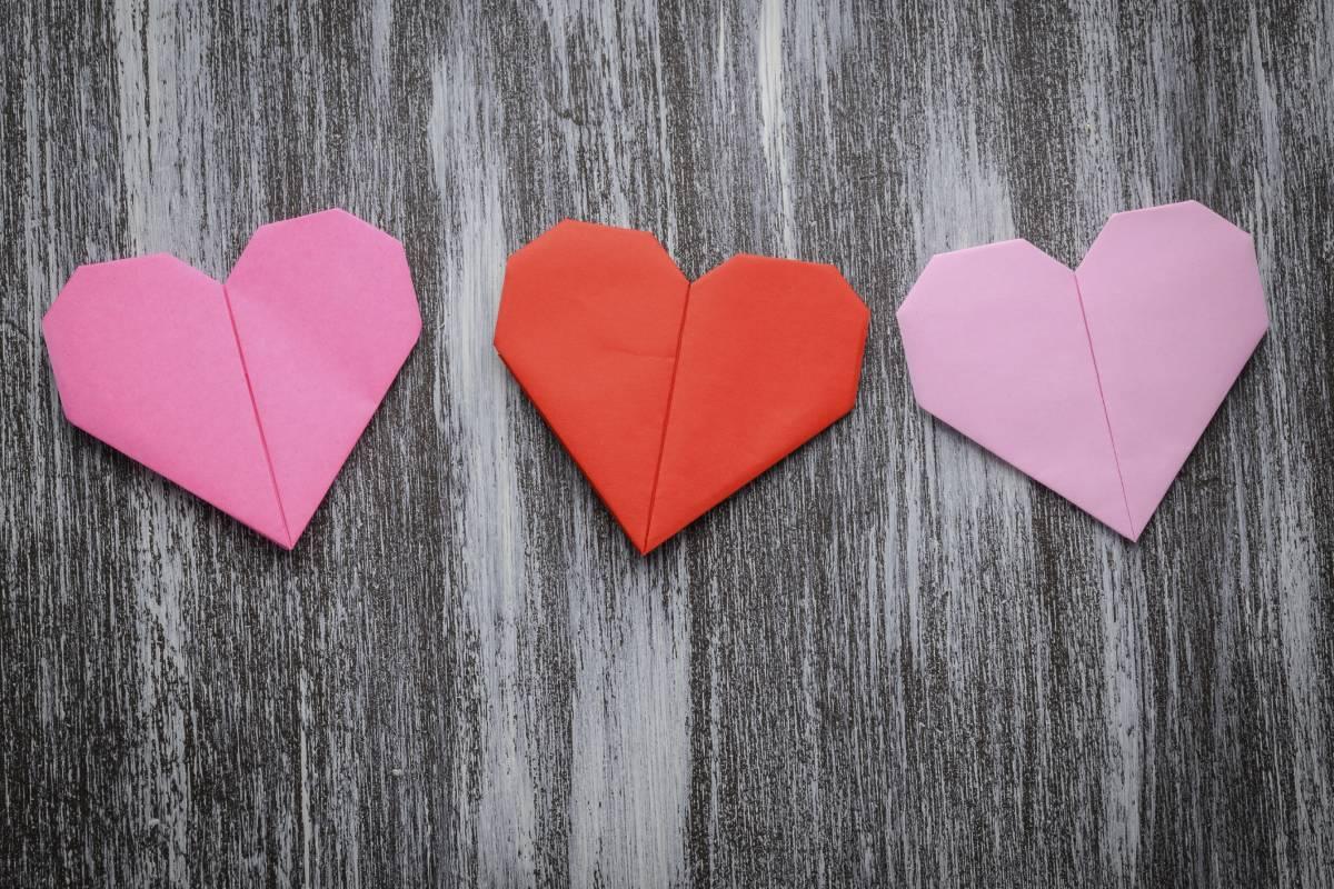Relativ Hübsches Origami-Herz falten in nur 5 Minuten - bildderfrau.de QD08