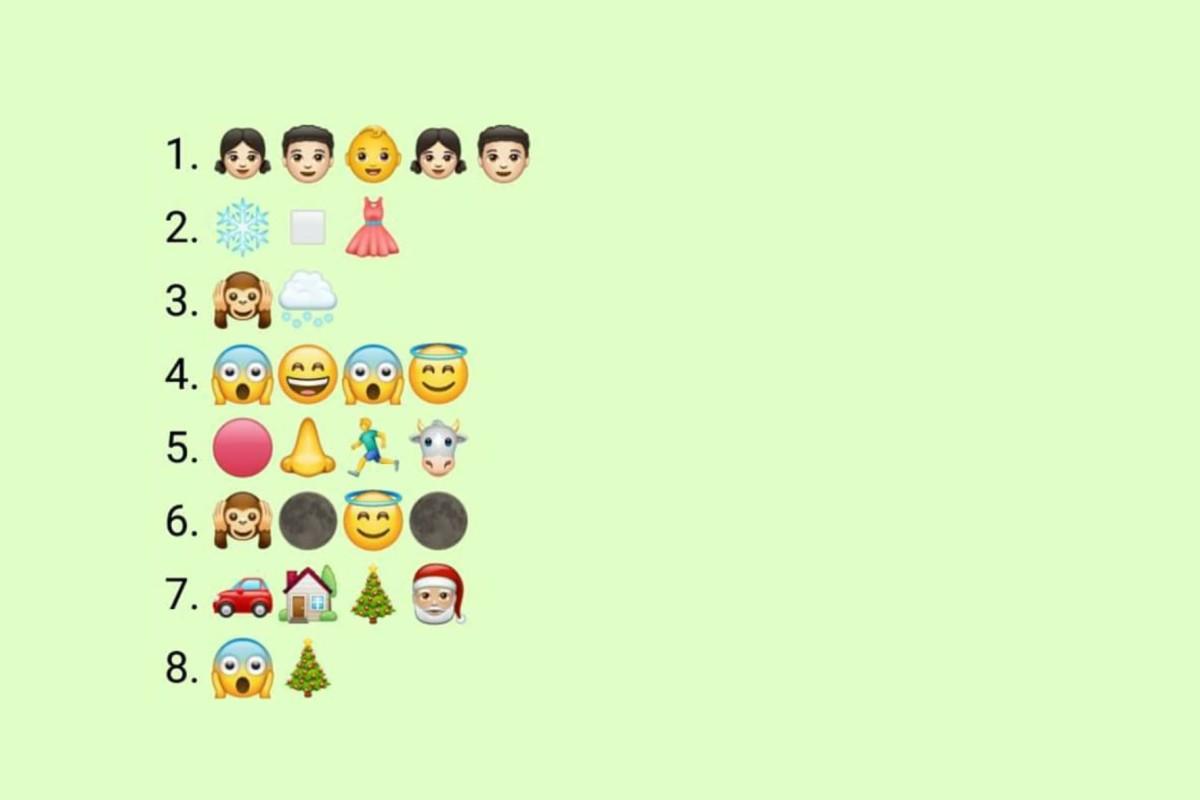 Weihnachtslieder Kurz.Weihnachtslieder Welche Verstecken Sich Hinter Den Emojis