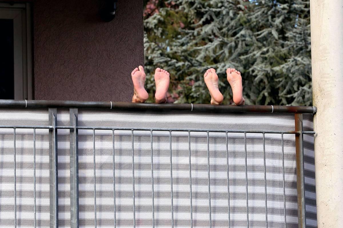Balkon Sichtschutz Schutz Vor Blicken Und Schlechtem Wetter