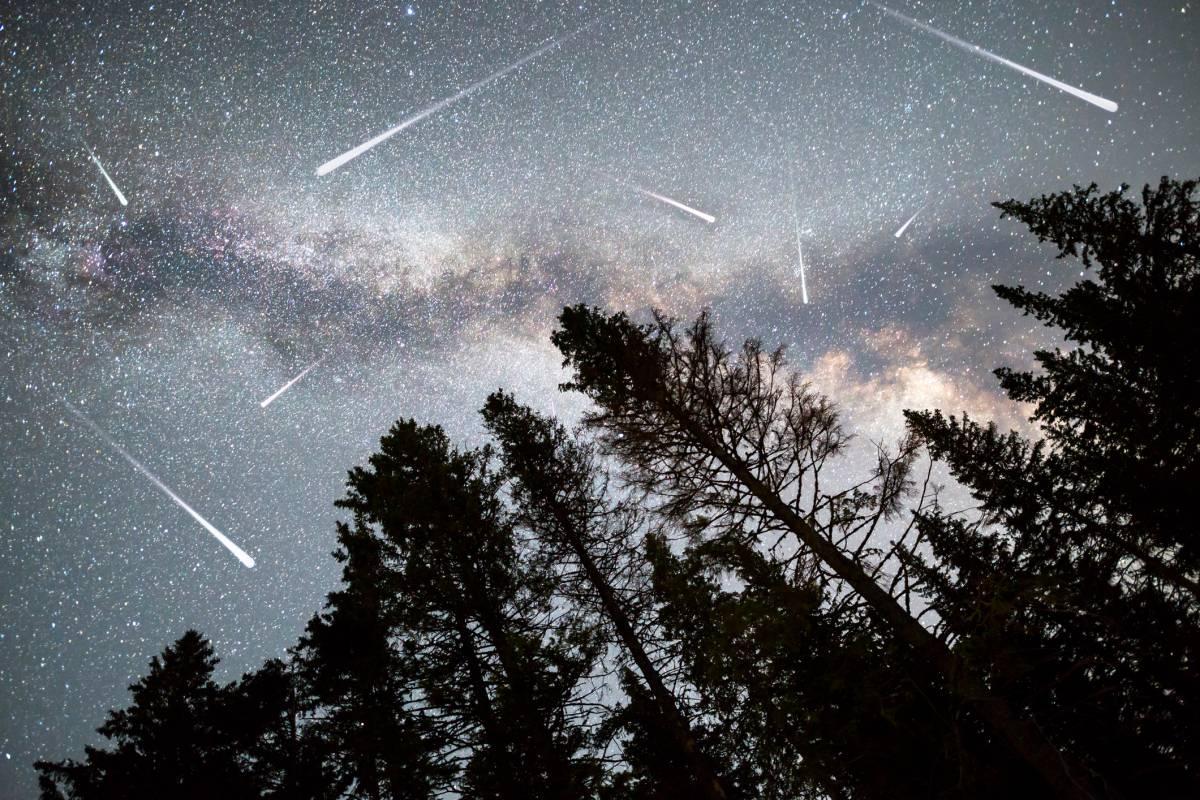 Sternschnuppen Kalender Fur Die Schonsten Meteorschauer
