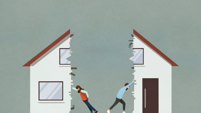 Familienrecht, Teil 6: Was, wenn einer nach der Trennung das gemeinsame Haus verkaufen will?