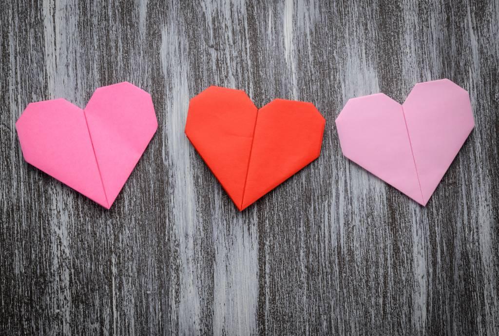 Hubsches Origami Herz Falten In Nur 5 Minuten Bildderfrau De