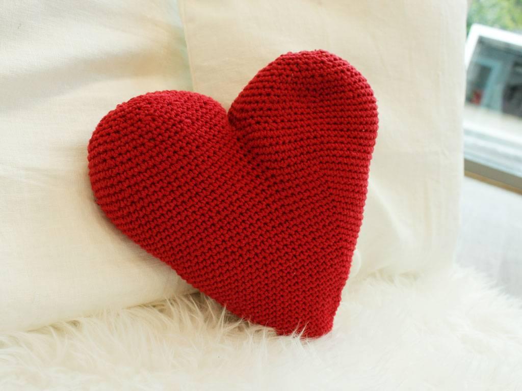 Herz Häkeln Einfache Anleitung Für Hübsches Häkelherz Bildderfraude