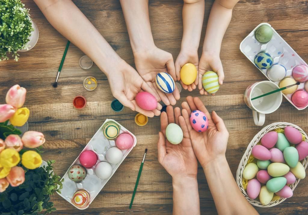 Ostereier Färben Und Verzieren Die Besten Techniken Bildderfraude