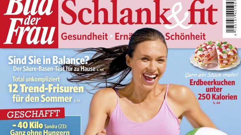 Bild Der Frau Schlank Fit Nr 3 Heftvorschau Bildderfraude