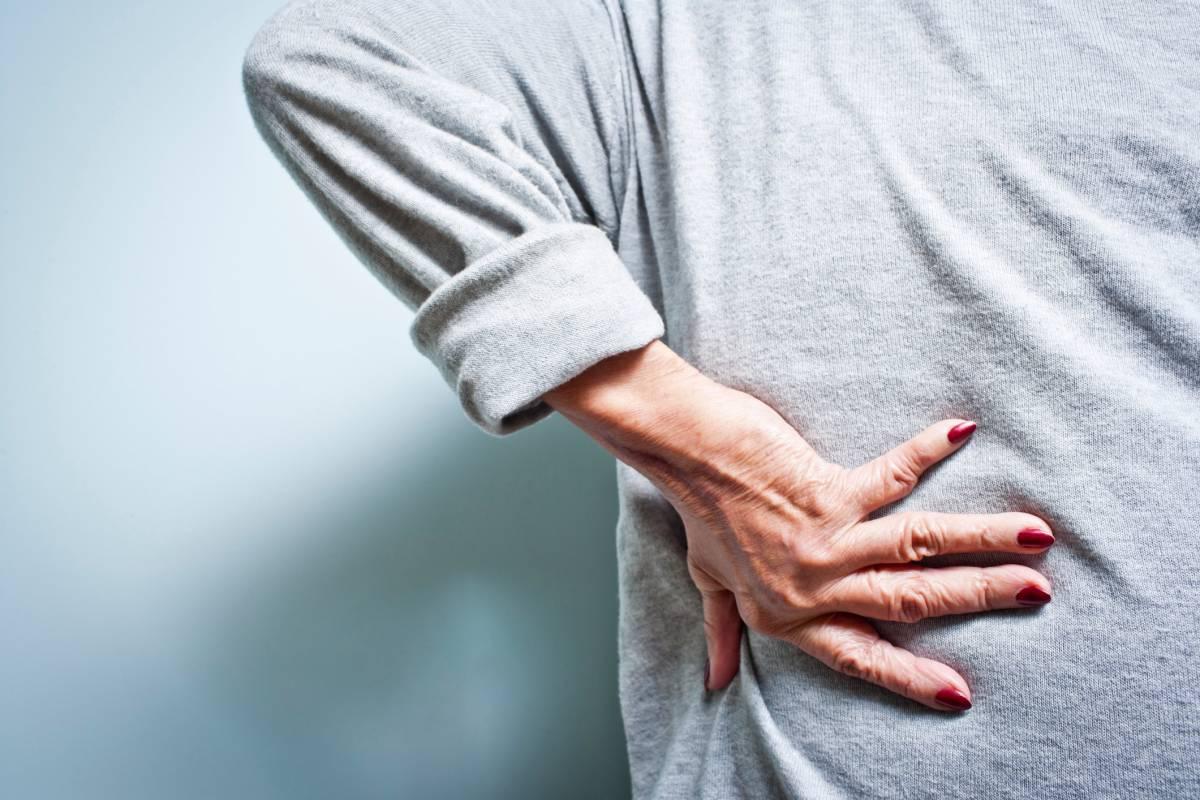 Abnehmen der Arme Rücken und Bauch Schwellung