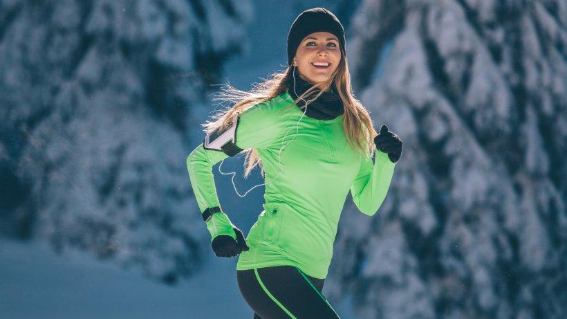 Correr en invierno: hay que prestar atención.