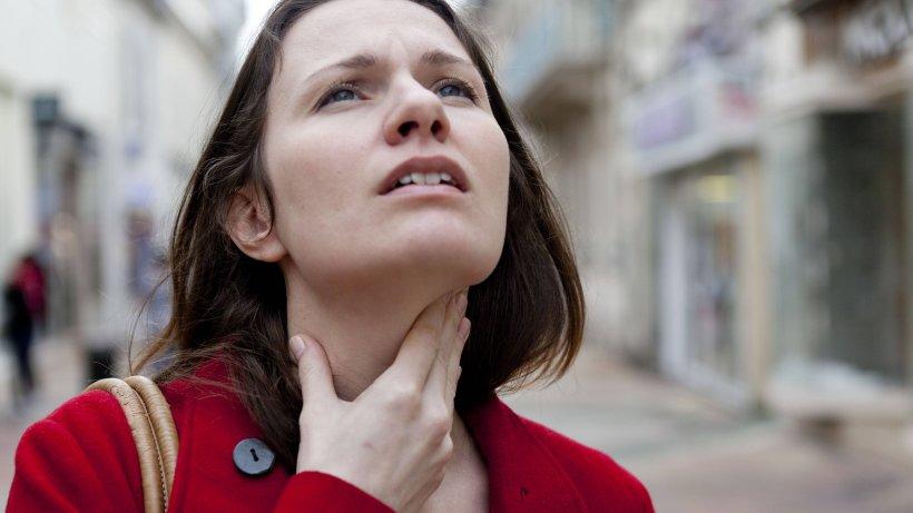 Halsschmerzen Nur Rechts