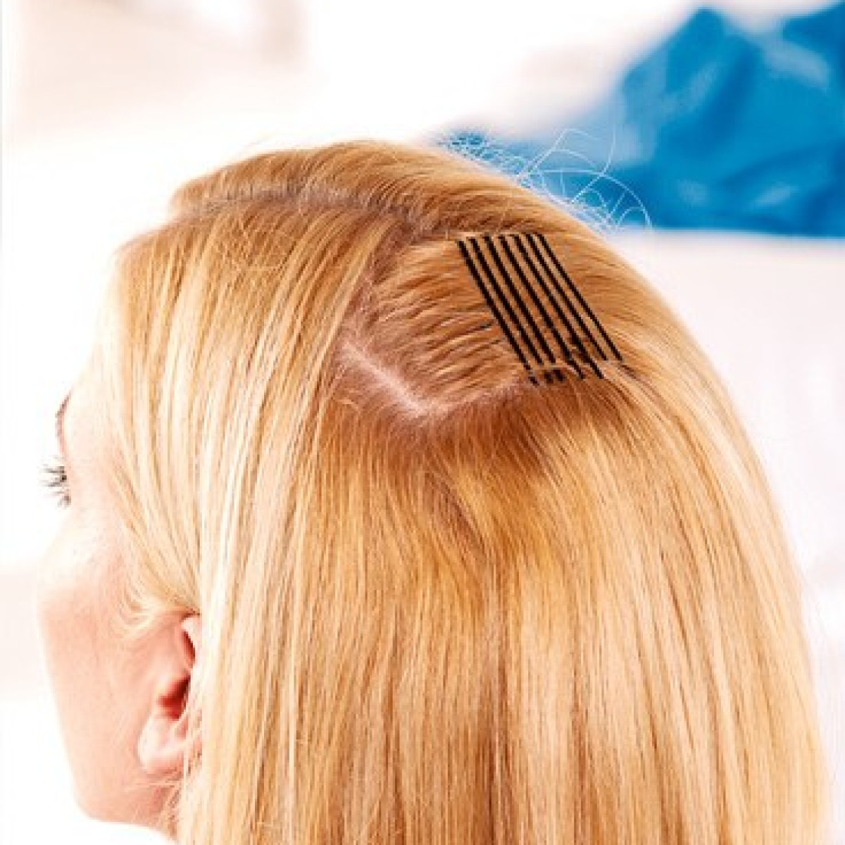 Haarwirbel hinterkopf