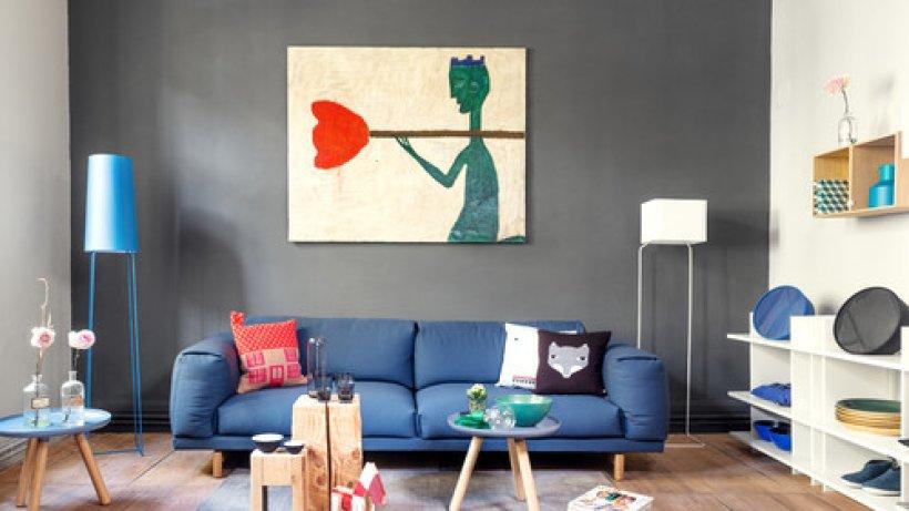 wohnung gestalten einrichtungsideen f r ein sch nes zuhause bild der frau. Black Bedroom Furniture Sets. Home Design Ideas