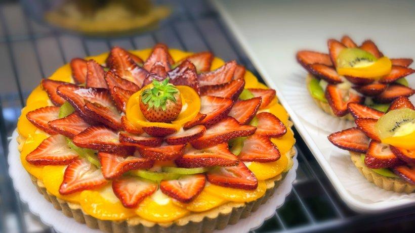 Kuchen mit smarties einfrieren