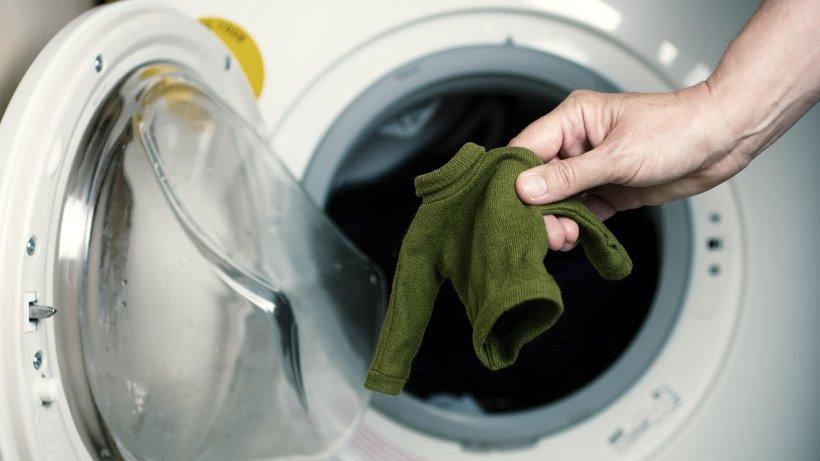 Eingelaufene Wäsche Retten