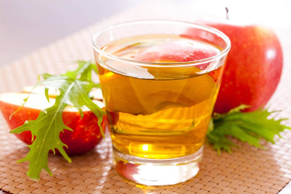 Apfelwein zum Abnehmen von Früchten