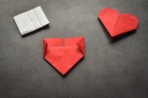 Top Hübsches Origami-Herz falten in nur 5 Minuten - bildderfrau.de SS03