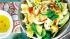 Salat mit Apfel und Couscous