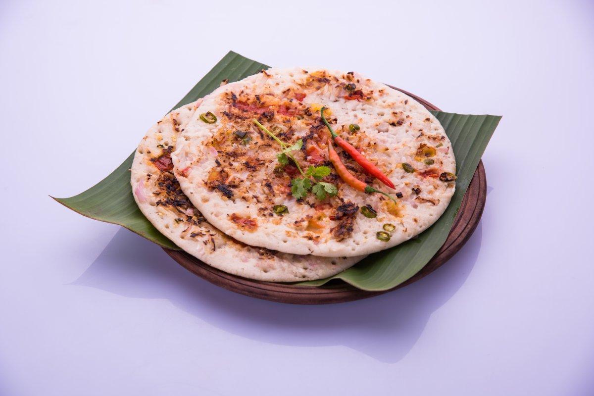Indische Pfannkuchen: Rezept für Uttapam