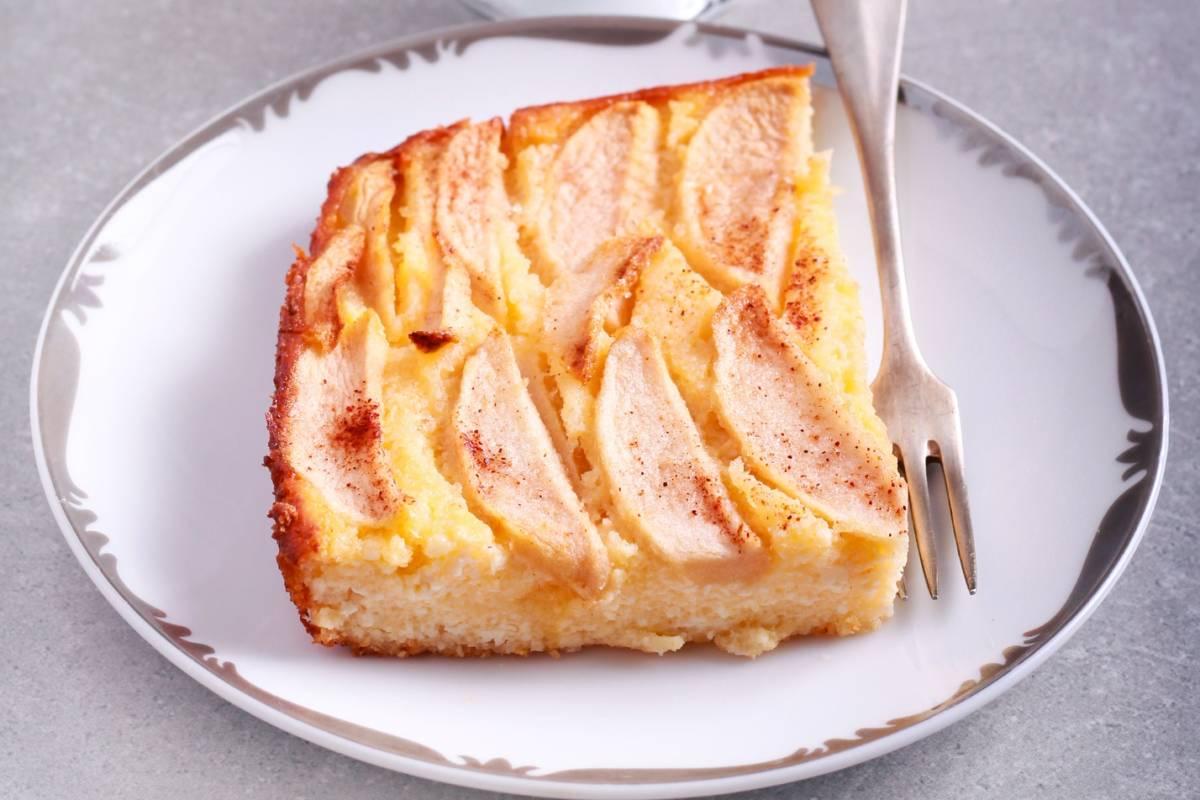 Birnenkuchen Rezept Mit Quarkguss Bildderfrau De