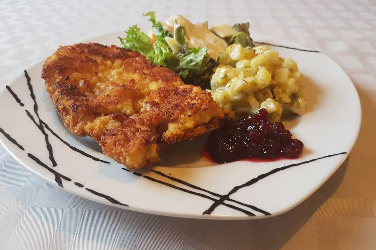 Wiener Schnitzel Ganz Klassisch Bildderfraude