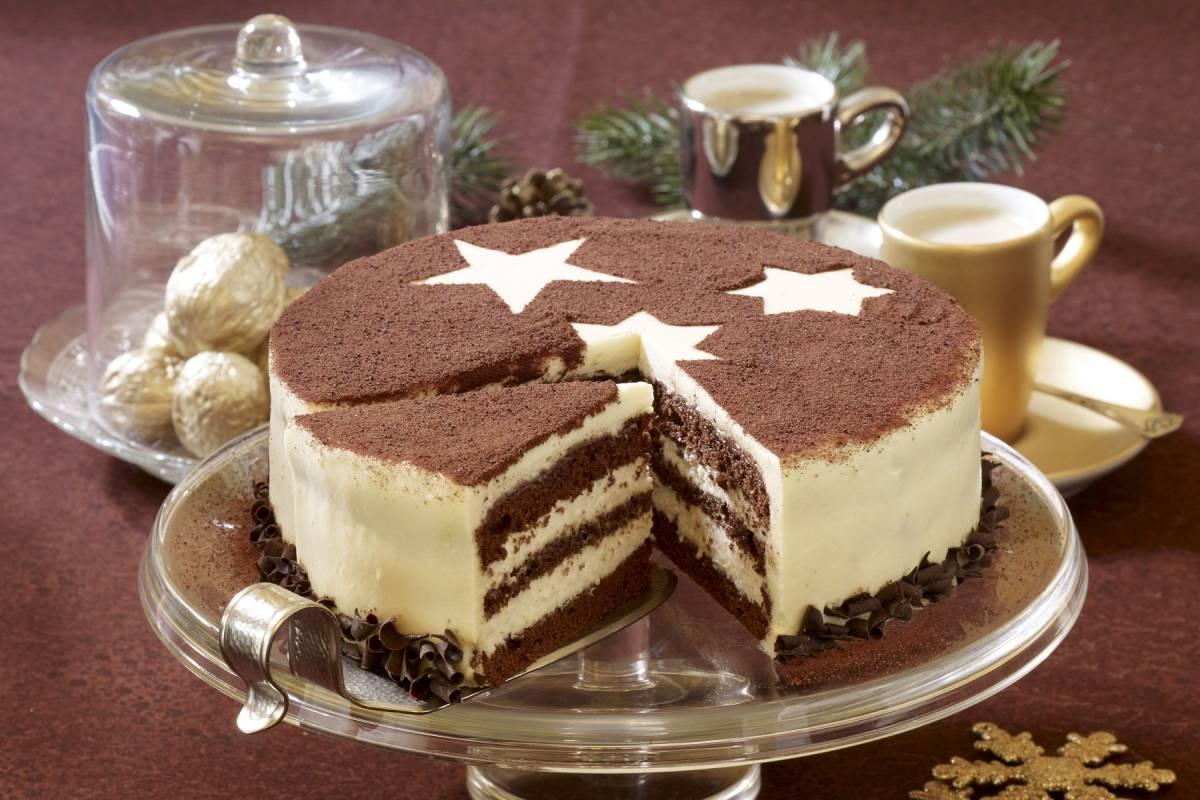Schoko Tiramisu Torte Rezept Furs Fest Bildderfrau De