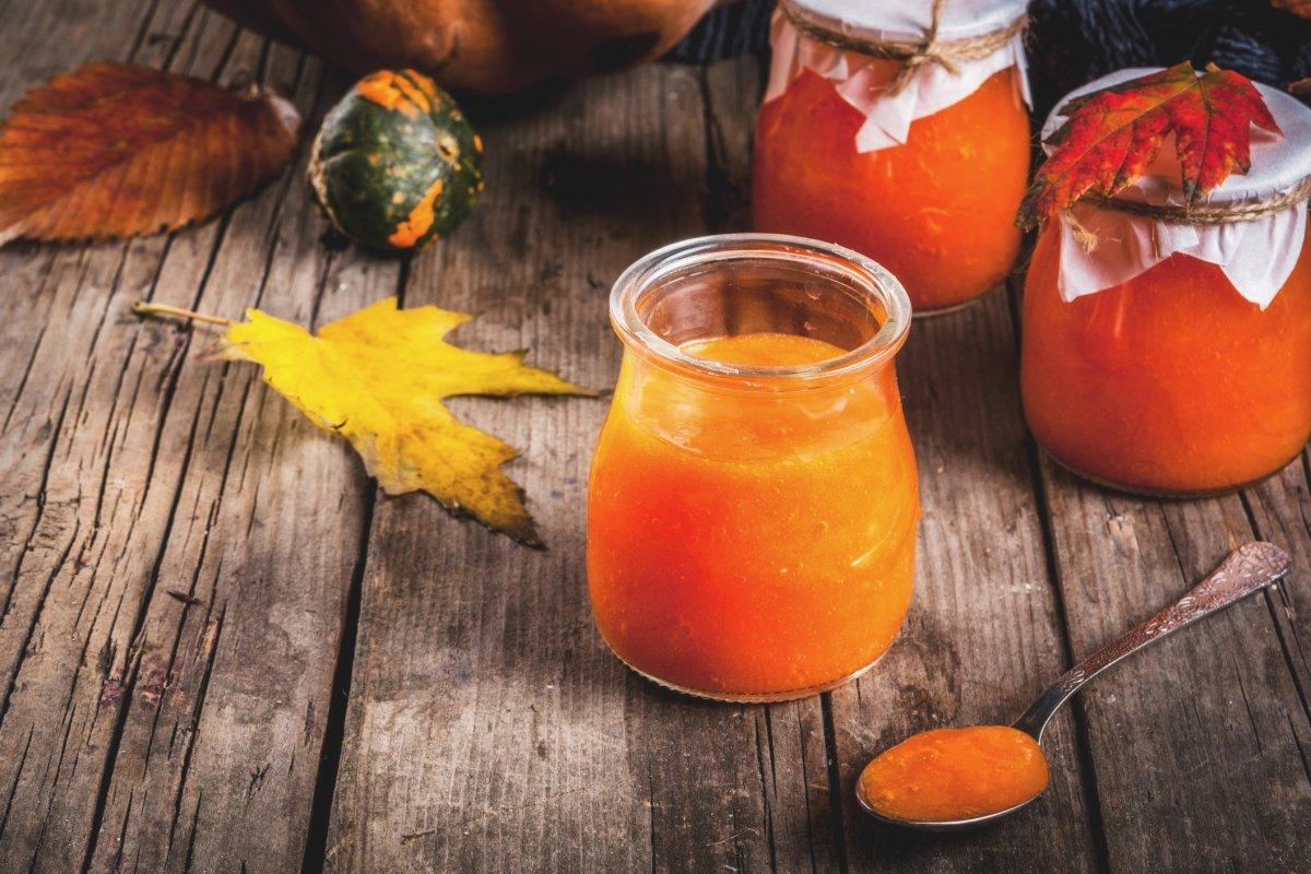 Kürbismarmelade mit Apfel: Rezept der saisonalen Küche