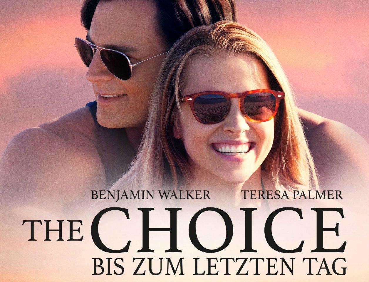 The Choice - Bis zum letzten Tag erscheint am 26.08.2016 auf DVD, Blu-Ray und als Video on Demand.