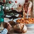 Amerikanisches Weihnachtsessen.Weihnacht In Amerika Das Kommt Auf Den Tisch Bildderfrau De