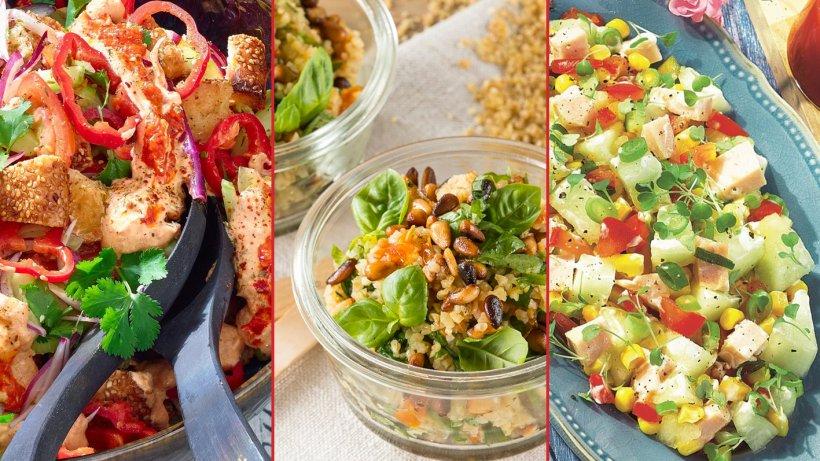 Leichte Salate für den Sommer: Bildergalerie