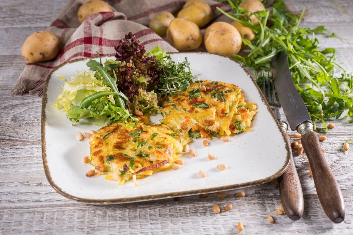 Kürbis-Zucchini-Bratlinge: Vegetarisches Rezept für großen Genuss