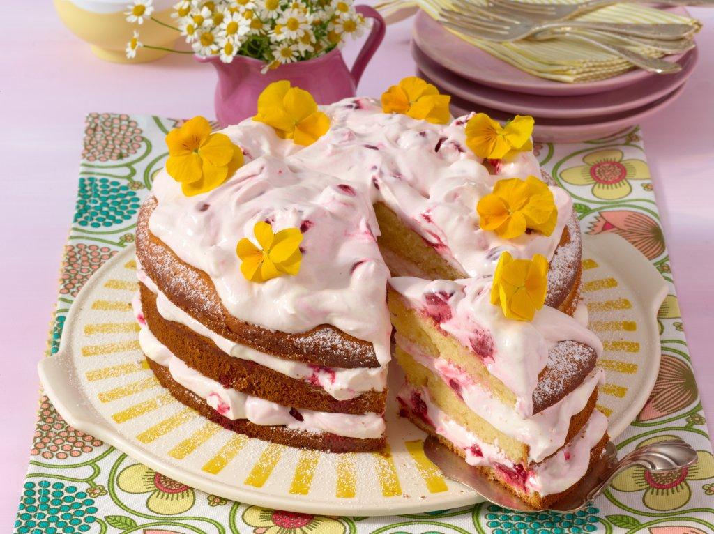 Kirsch sahne torte kcal