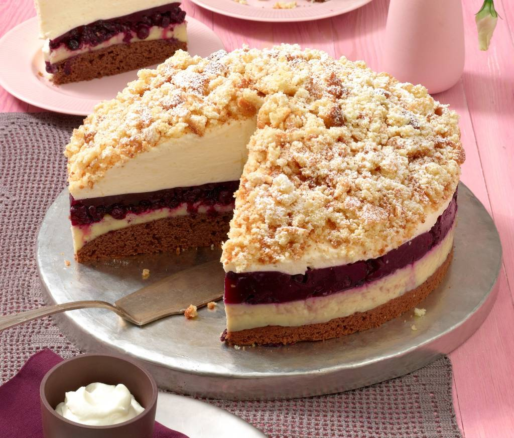 Heidelbeer Eierlikor Torte Perfekt Fur Feiertage Co Bildderfrau De