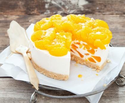Mandarinen Torte Mit Frischkäse Köstliche Winter Version Bildderfrau De