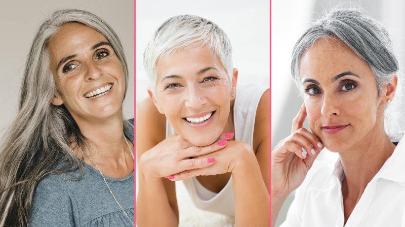 Frisuren 2018 Frauen Ab 50 Grau Modische Lange Frisuren