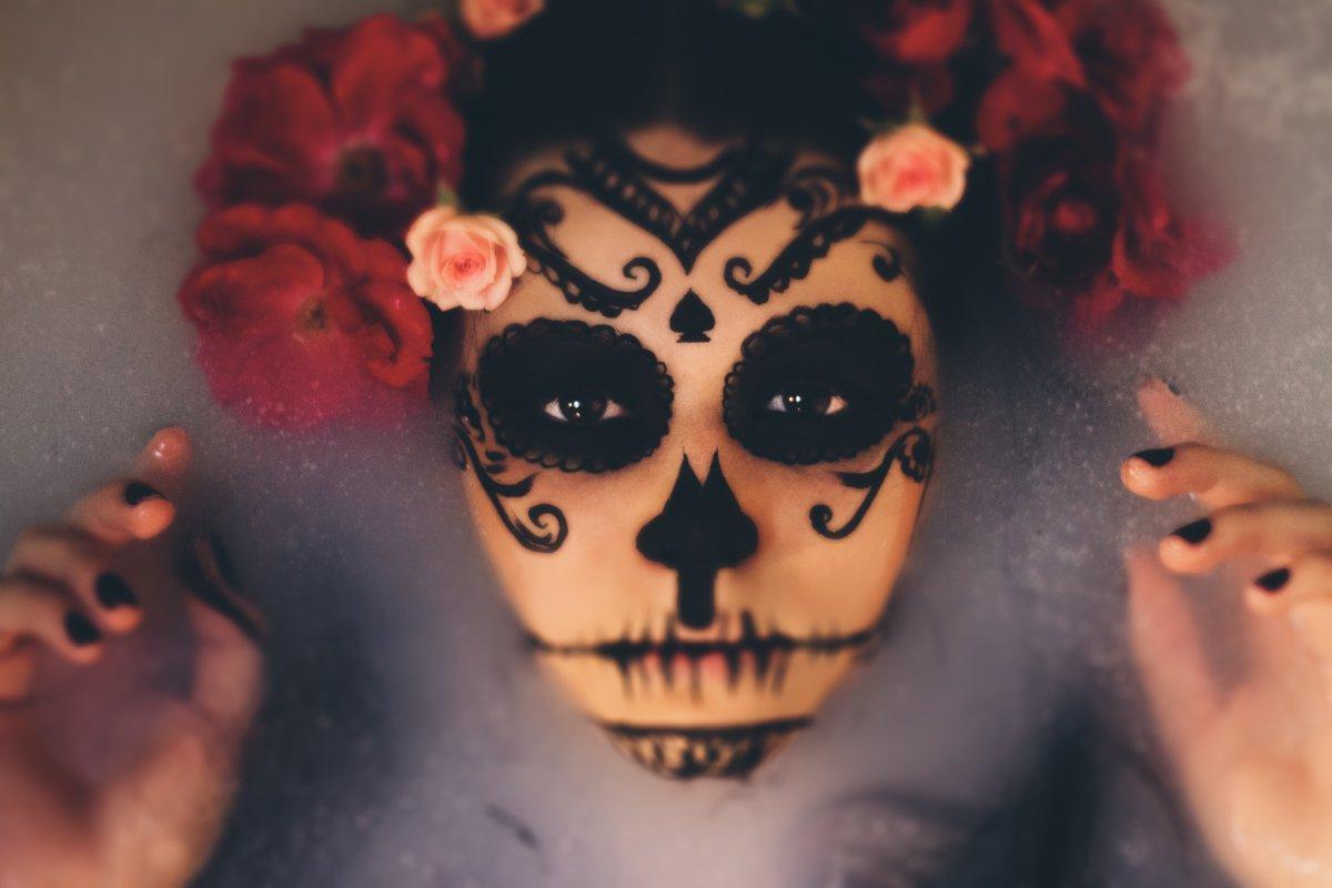 Halloween-Make-up-Ideen ohne viel Aufwand