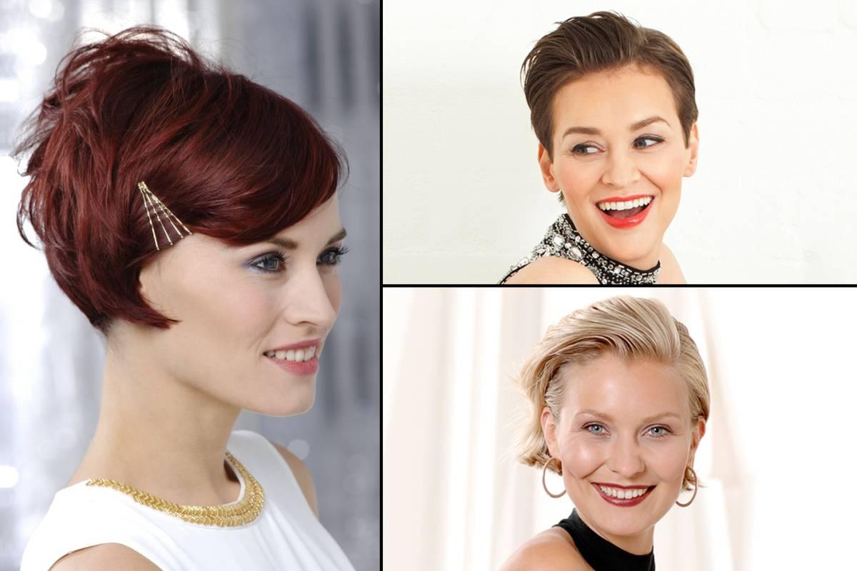 Festlicher Look für kurze Haare - bildderfrau.de
