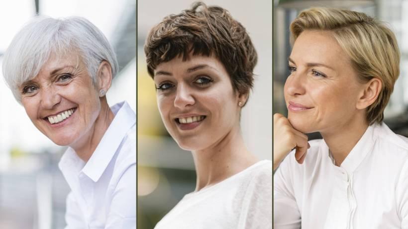 Trendige kurzhaarfrisuren damen 2019