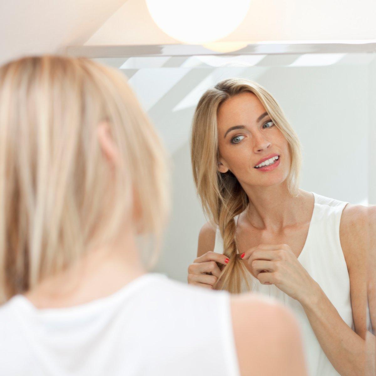 Diese Frisuren helfen bei fettigen Haaren   bildderfrau.de