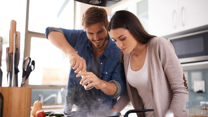 Date Kochen erstes date sie werden bekocht bild der frau