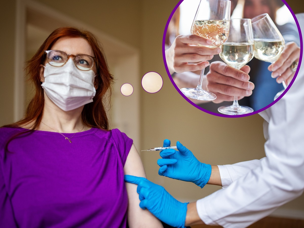 Alkohol Und Corona Impfung Diesen Fehler Machen Viele Bildderfrau De