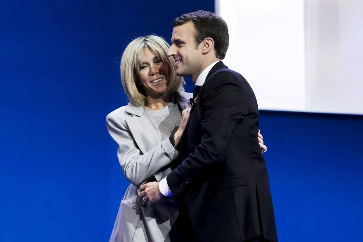 Frankreichs Prasident Macron Heiratete Seine Lehrerin Bildderfrau De