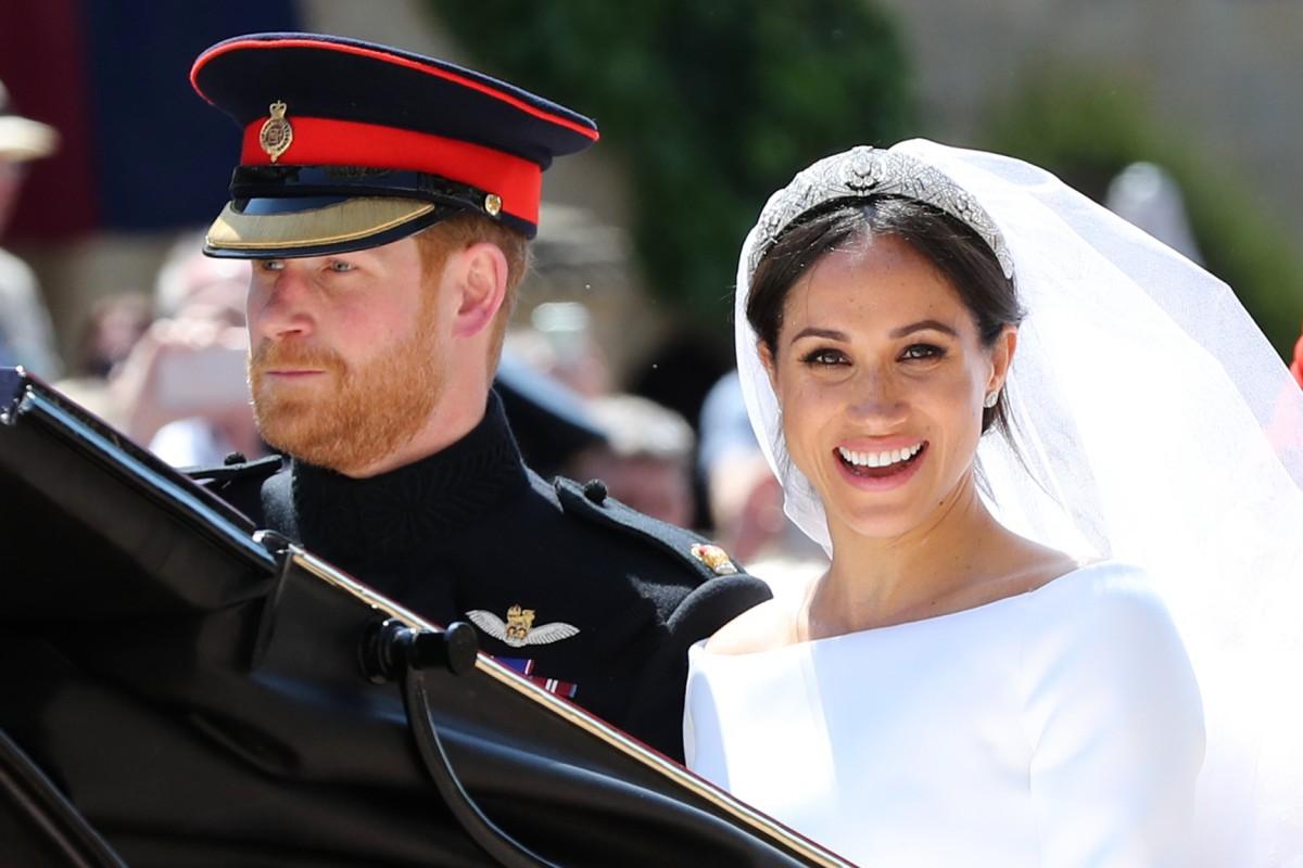 Meghan Markle Und Prinz Harry Sind Verheiratet Bildderfrau De